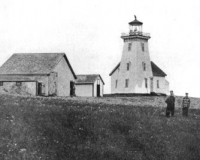 Haute Isle lighthouse