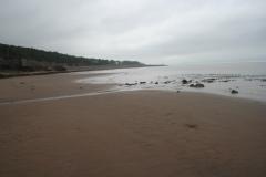 Sandbar looking back to Morden
